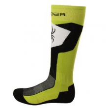Discover Ski Sock Men's, Theory Green/Black/White, M