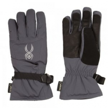 Synthesis GORE-TEX Ski Glove Women's, Black/Black, L by Spyder