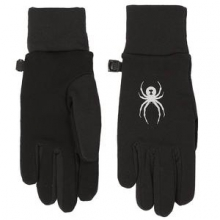 Stretch Fleece Conduct Glove Kids', Black, L