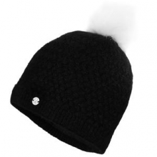 Icicle Hat Women's, Black/White,