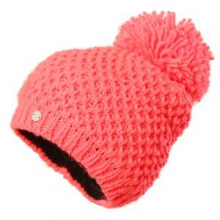 Brrr Berry Hat Women's, Bryte Pink, by Spyder