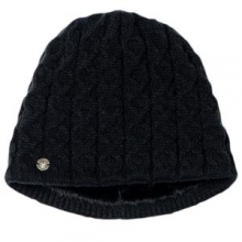 Cable Hat Women's, Black,