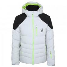 Rocket Down Ski Jacket Men's, Cirrus/Black/Theory Green, XL