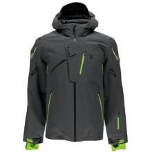 Monterosa Insulated Ski Jacket Men's, Polar/Theory Green/Bryte Yellow, 3XL