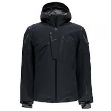 Monterosa Insulated Ski Jacket Men's, Black/Black/Polar, S by Spyder