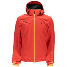 Alyeska Insulated Ski Jacket Men's, Volcano/Bryte Orange, XXL