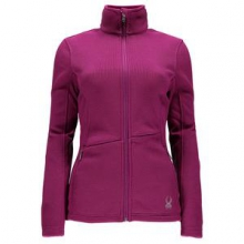 Endure Full Zip Mid-Weight Core Sweater Jacket Women's, Wild, XL by Spyder