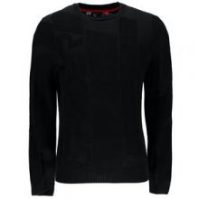 Axtyn Crew Sweater Men's, Black/Volcano, L