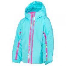 Bitsy Charm Insulated Ski Jacket Little Girls', Shatter/Bryte Bubblegum Focus, 6