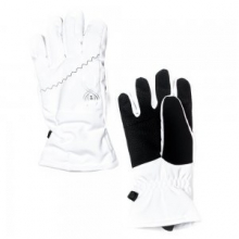 Collection Ski Glove Girls', Black, M by Spyder