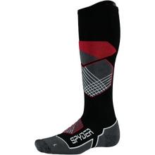 Explorer Ski Sock Men's, Black/Red/White, M by Spyder