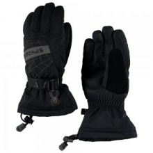 Overweb Glove Boys', Black/Red, L