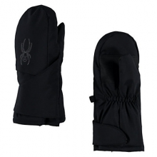 Mini Cubby Mitten Little Boys', Black/Polar, L by Spyder