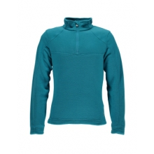 Speed Fleece Top Mid-Layer Girls', Bluebird, L