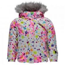 Bitsy Lola Insulated Ski Jacket Little Girls', Freeze/Iris, 2
