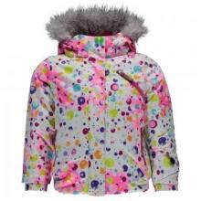 Bitsy Lola Insulated Ski Jacket Little Girls', Freeze/Iris, 2 by Spyder