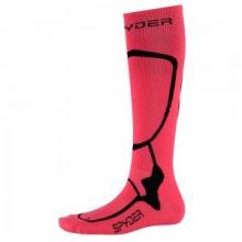 Pro Liner Ski Sock Women's, Bryte Pink/Black, S by Spyder