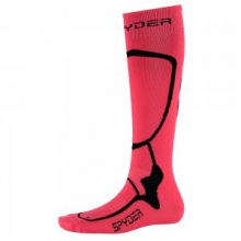 Pro Liner Ski Sock Women's, Bryte Pink/Black, S