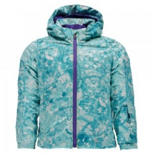 Bitsy Glam Insulated Ski Jacket Little Girls', Tacey Freeze/Iris, 2