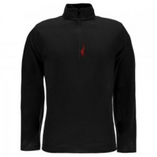 Buckhorn Cotton/Poly Turtleneck Men's, Black/Red, L by Spyder