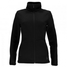 Endure Full Zip Mid Weight Stryke Jacket Women's, Black, L by Spyder