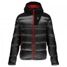 Bernese Down Jacket Men's, Black/Black/Black, L by Spyder