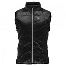 Exit Insulator Vest Men's, Black/Polar/Cirrus, L by Spyder