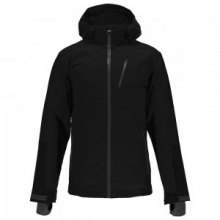 Chambers Ski Jacket Men's, Black/Black/Polar, L by Spyder