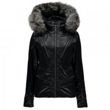Posh Ski Jacket Women's, Black, 10 by Spyder