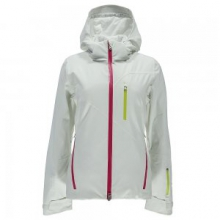 Fraction Ski Jacket Women's, White/Voila/Acid, 10