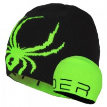 Reversible Bug Hat Boys', Black/Red, by Spyder