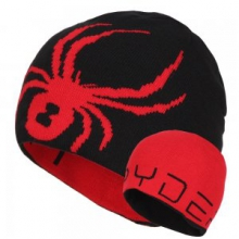 Reversible Bug Hat Boys', Black/Red,