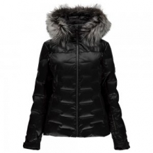 Falline Real Fur Down Jacket Women's, Black