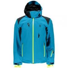Bromont Insulated Ski Jacket Men's, Black/Volcano/Bryte Orange, L by Spyder