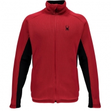 Mens Foremost Full Zip Sweater - Sale Formula/Black XL by Spyder