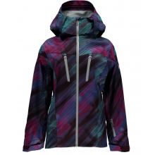 - Eiger Shell Jacket W - X-SMALL - Geo Rays Voila Print Silver