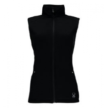 Melody Full Zip Mid Weight Stryke Fleece Vest - Women's by Spyder