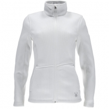 Womens Endure Full Zip Mid Weight Stryke Jacket White Small by Spyder