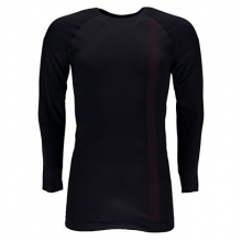 Crest Boxed Mens Long Underwear Top by Spyder