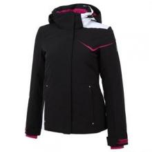 Amp Insulated Ski Jacket Women's, Black/Wild/White, 2