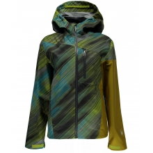 - Jagged Shell Jacket W - X-SMALL - Geo Rays Acid Print Acid