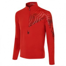Angle Mid-Layer Top Men's, Volcano, S by Spyder