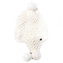 Bitsy Brrr Berry Hat Little Girls', White, by Spyder