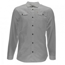 Crucial L/S Button Down Shirt Men's, Cirrus, L