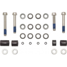 Front 180mm/Rear 160mm Post Bracket Hardware Kit by Avid