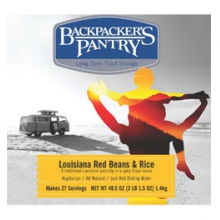 Backpacker's Pantry #10 Can Lousiana Red Beans and Rice by Backpacker's Pantry