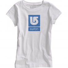 - Vertical Logo SS Girls - Large - Stout White by Burton
