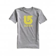 - Logo Vert SS Boys - Small - Grey Heather by Burton