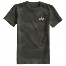 - Boys Scout SS Tee - small - Oil Camo by Burton