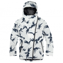 - CABANA JACKET - x-small - Blanco Modern Floral by Burton
